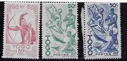 TIR A L'ARC - ACTE DE PECHE - Togo (1914-1960)