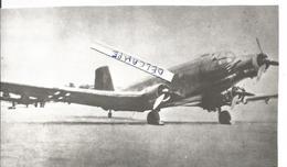 PHOTO AVION ALLEMAND A IDENTIFIER    16X9CM   RETIRAGE ?? - Aviazione