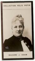 """Juliette ADAM Ecrivain De Salon  """"la Nouvelle Revue""""  Née à Verberie † Callian - Collection Photo Felix POTIN 1900 - Félix Potin"""
