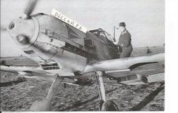 PHOTO AVION ALLEMAND A IDENTIFIER AVEC PILOTE PRET AU DECOLLAGE   17X12CM  RETIRAGE - Aviazione