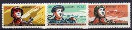 North Korea 1973  Michel  1149/51  Mnh - Corea Del Norte