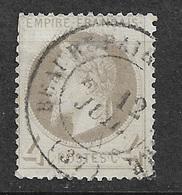 France   N° 27   Oblitéré Cachet  à Date    AB/ 2eme Choix   ... Soldé  à Moins De  5 %   ! ! ! - 1863-1870 Napoleon III With Laurels