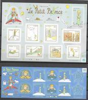 JAPAN, 2019, MNH, CHILDREN'S STORIES, THE  LITTLE PRINCE, ST. EXUPERY,   2 SHEETLETS - Fairy Tales, Popular Stories & Legends