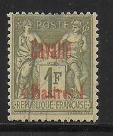 CAVALLE - YVERT N° 8 OBLITERE DEFECTUEUX - COTE = 100 EUROS - - Oblitérés