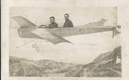 Carte Photo       Souvenir De Ma Période  à La Courtine En 1911  Envoyée à    Le Puy - Aviation