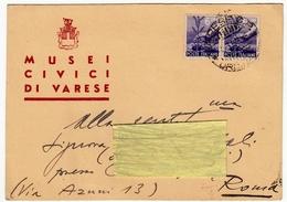 CARTOLINA - MUSEI CIVICI DI VARESE - Vedi Retro - Varese