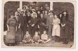 CPA HERAULT.LAMALOU-les-BAINS.CARTE PHOTO 1922 - Lamalou Les Bains
