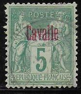 CAVALLE - YVERT N° 1 OBLITERE - COTE = 22 EUROS - - Oblitérés
