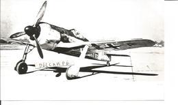 PHOTO AVION ALLEMAND FOCKE WULF 190  17X10CM - Aviation