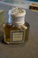 Guerlain ,parfum,Baccarat,Jicky,RARE,ancien,pleine Avec Plombage D'époque Et Sa Boîte D'origine,coffret 12 Cm/9 Cm. - Miniatures (avec Boite)
