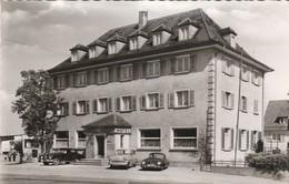 CPSM  ALLEMAGNE FRIEDRICHSHAFEN BODENSEE HOTEL HECHT PORSCHE - Friedrichshafen
