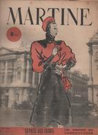 """Revue MARTINE N° 89 Du 14 Au 11 Janvier 1947- Nouvelles-modes-LUIS MARIANO """"histoire De Chanter""""Nouvelles - Livres, BD, Revues"""