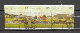 2009         N° 1323 à 1325   OBLITERES     JOUR D'EMISSION         CATALOGUE  ZUMSTEIN - Oblitérés