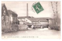 Nogent Le Rotrou (28 - Eure Et Loir)  Le Moulin Du Pont De Bois - Nogent Le Rotrou