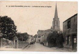 La Haie-Fouassière-La Route De Vertou Et L'Eglise - France
