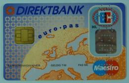 Netherlands - DIREKTBANK - Maestro - Euro Pas - Specimen - Hand Numbered - R - Geldkarten (Ablauf Min. 10 Jahre)