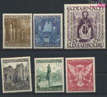 Luxemburg Mi.-Nr.: 417-422 (kompl.Ausg.) Mit Falz 1947 Abtei Echternach (9408682 - Luxemburg