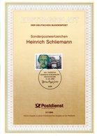 """(bFDC) BRD Amtl. Ersttagsblatt ETB 27/1990 Mi.1480 """"100. Todestag Von Heinrich Schliemann"""" ESSt 11.10.1990 BONN 1 - Sin Clasificación"""