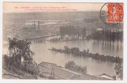 CPA HERAULT.BEZIERS.LA CRUE DE L'ORB LE 17 NOVEMBRE  1907. - Beziers