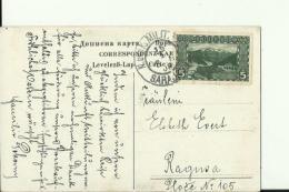BiH1364A   --   EIN TUNNEL AUF DER BAHN LINIE SARAJEVO - PALE  - 1908  -  BAHN, RAILWAY  -   VERLAG: A. THIER, SARAJEVO - Bosnia Y Herzegovina