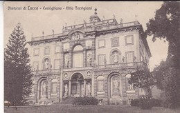 DINTORNI DI LUCCA, CAMIGLIANO, VILLA TORRIGIANI. ITALIE CARTE POSTALE CPA CIRCULEE 1914 PESCIA -LILHU - Lucca