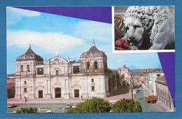 NICARAGUA CATEDRAL DE SANTIAGO DE LOS CABALLEROS DE LEON 1970 - Nicaragua