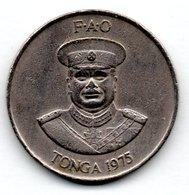 Tonga  - 20 Seniti 1973  -  état  TB+ - Tonga
