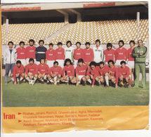 COUPE DU MONDE DE FOOTBALL 1978 **Equipe D' Iran** - Voetbal