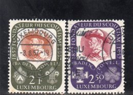 LUXEMBOURG 1957 O - Luxembourg
