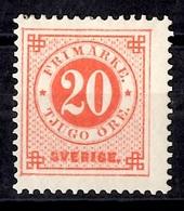 Suède YT N° 35 Neuf *. B/TB. A Saisir! - Sweden