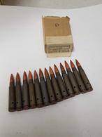 Boite De 7.92mm Yougoslave 1953(neutralisée) - Armes Neutralisées