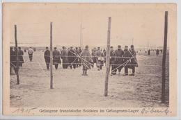 DÖBERITZ (Brandebourg) - Gefangene Französische Soldaten Im Gefangenen-Lager Camp De Prisonniers Français Grande Guerre - Dallgow-Doeberitz