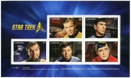 Canada (Scott No.2916i - Star Trek) [**] Booklet Pane - Neufs