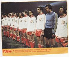 COUPE DU MONDE DE FOOTBALL 1978 **Equipe De Pologne, Poloska** - Fútbol