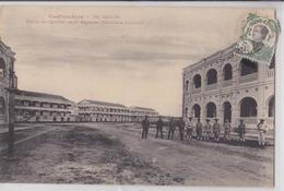 SAÏGON (Indochine Française Cochinchine) Entrée  Du Quartier Du 5e Régimen Artillerie Coloniale Affranchissement Timbre - Vietnam