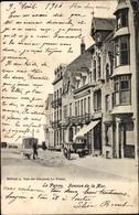 Cp La Panne Westflandern, Avenue De La Mer, Straßenpartie, Geschäftshäuser - Belgique