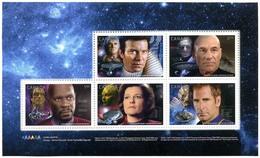 Canada (Scott No.2983h - Star Trek) [**] Booklet Pane - Neufs