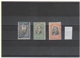 BOLIVIE 1909 YT N° 75-76-77 Neufs* Et Oblitéré - Bolivia