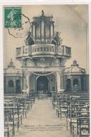 CPA Ardennes 331. Vireux-St-Martin Intérieur De L'Eglise Confessionnaux Et Buffet D'orgues Circulée Timbre Tampon - France