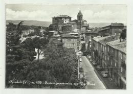 GRADOLI - SCORCIO PANORAMICO CON VIA PIAVE - VIAGGIATA FG - Viterbo