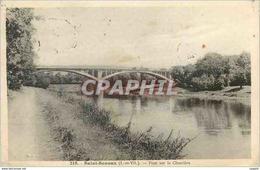 CPA Saint Senoux (I Et V) Pont Sur La Charriere - France