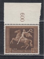 DEUTSCHES REICH 1938 - Mi.-Nr. 671 Postfrisch MNH** Mit Bogenrand! - Deutschland