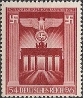GERMANY REICH - 10th ANNIVERSARY OF THE ASSUMPTION OF POWER BY THE NAZIS 1943 - MNH - Deutschland