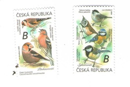 Czech Republic 2020 - Set Of 2 Stamps,. MNH - Pájaros Cantores (Passeri)