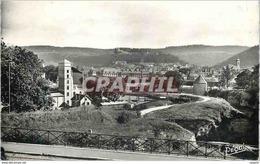 CPM Besancon Les Bains (Doubs) Anciens Remparts Au Fond La Citadelle - Besancon
