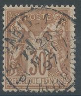 Lot N°53587  N°80, Oblit Cachet à Date De F PARIS.1F (PL.de La BOURSE) - 1876-1898 Sage (Type II)