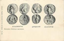 Pays Div Ref X317- Gréce - Greece - Crete - Creete - Numismatique - Monnaies Cretoises Anciennes  - - Greece