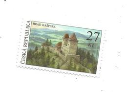 Czech Republic  2020 -  Castle Kasperk, 1 Stamp, MNH - Schlösser U. Burgen