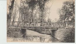 CPA SOLESMES (59) GUERRE MONDIALE 1914-18 - LE PONT SUR LA SELLE - Solesmes