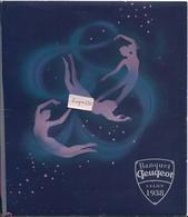 Menu Banquet PEUGEOT- Salon 1938 - Menus